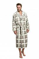 Теплый халат мужской.Nightgown L & L ROMEO. Польша