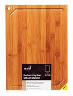 Доска разделочная бамбуковая с точилкой для ножа Hilton BCB 1212 33х23см