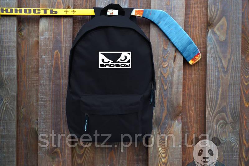 Городской рюкзак Badboy черный, портфель унисекс