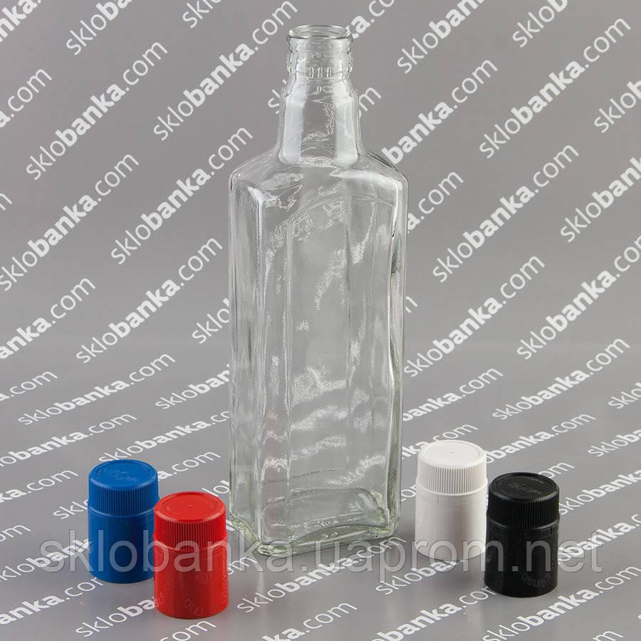 Бутылка штоф 0,5 л с крышкой дозатором