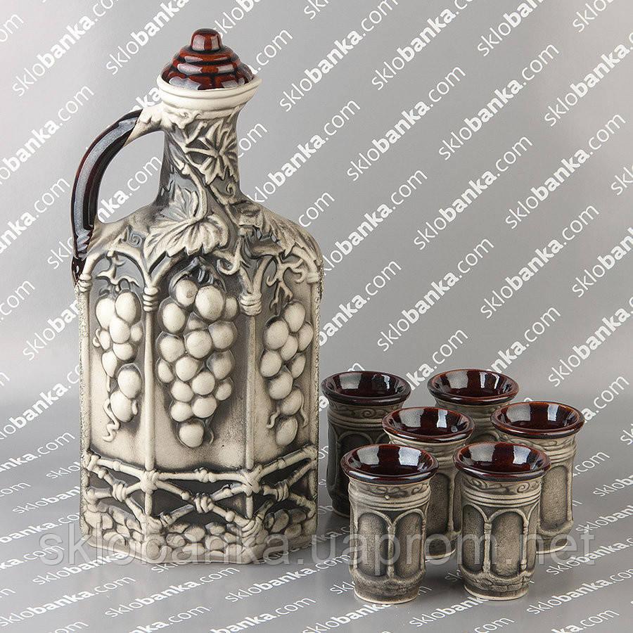 Набор керамический винный