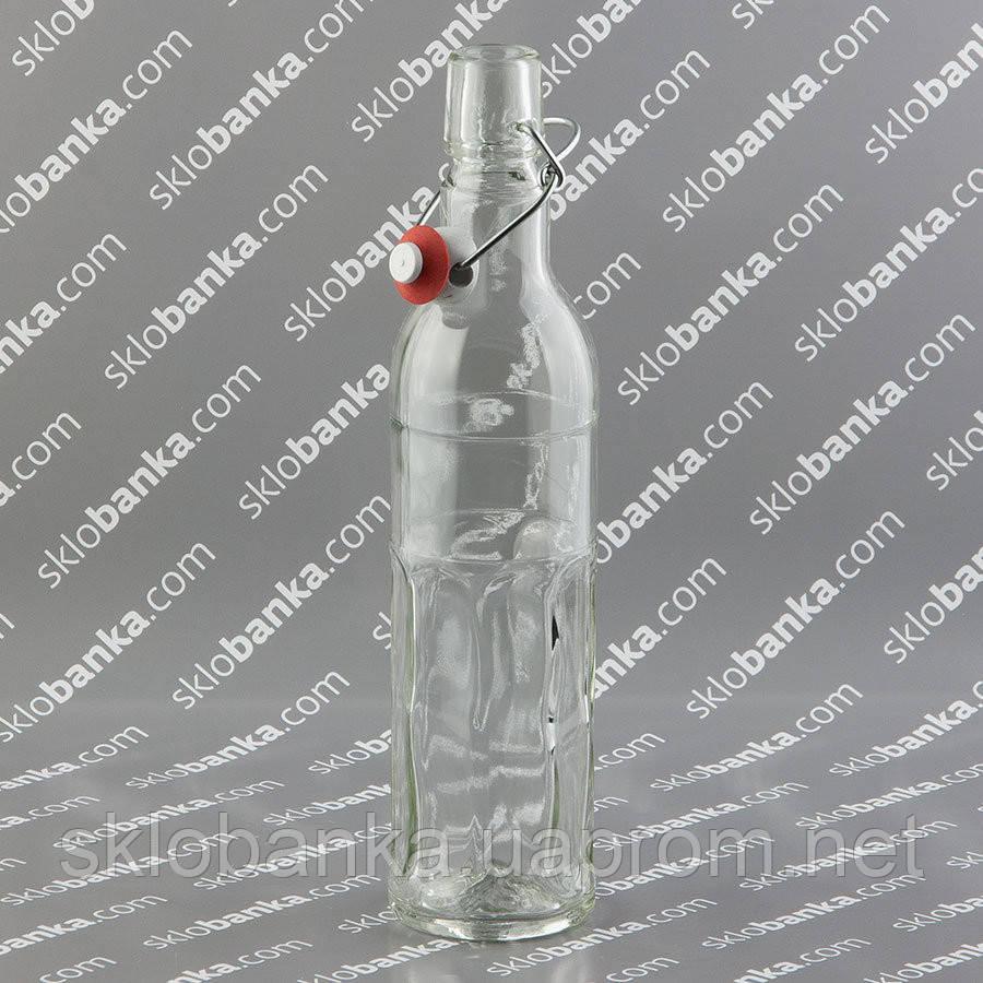 Бутылка водочная 0,5 л с бугельной крышкой