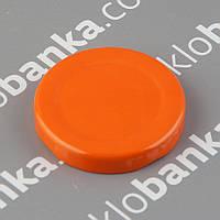 Крышка твист-офф 48 мм оранжевая