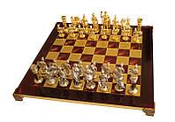 """Шахматы """"Греко-римские"""" красные, """"Manopoulos"""", фото 1"""