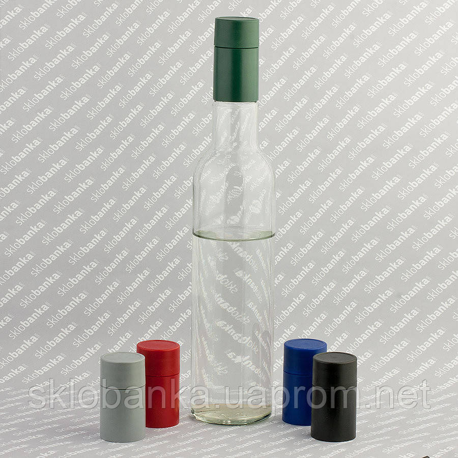 Бутылка водочная 0,5 л с крышкой-дозатором