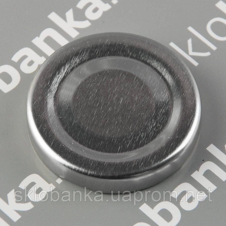 Крышка твист-офф 82 мм серебрянная