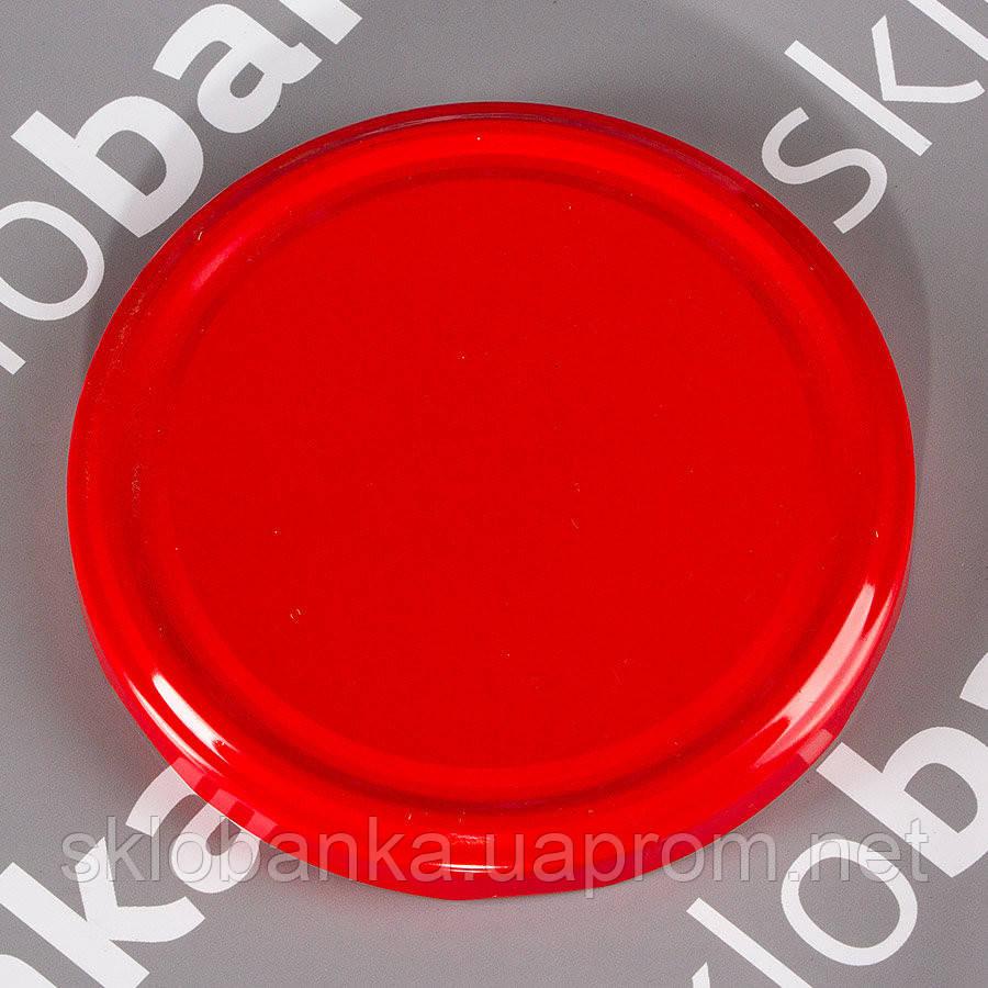 Крышка твист-офф 89 мм красная