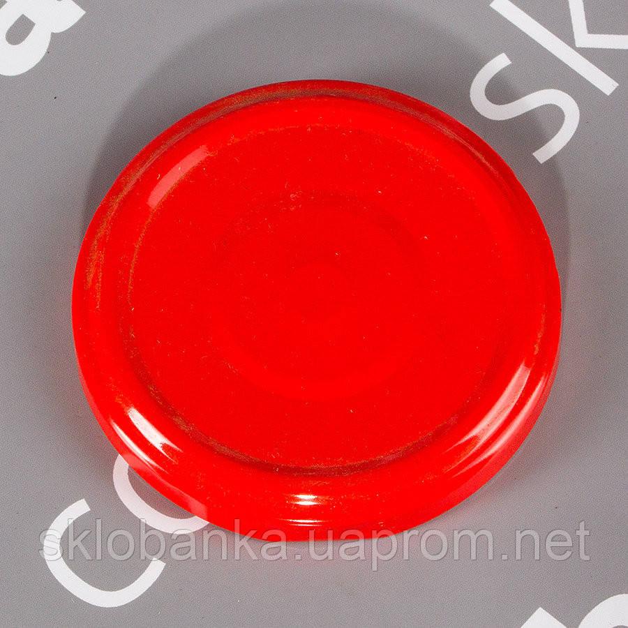 Крышка твист-офф 66 мм красная
