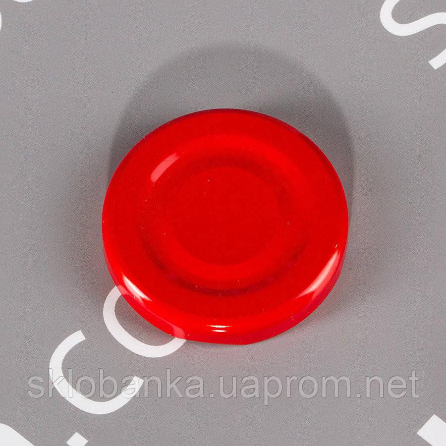 Крышка твист-офф 43 мм красная