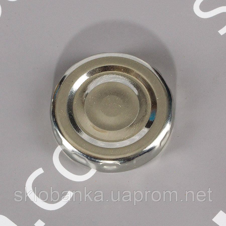 Крышка твист-офф 43 мм серебро