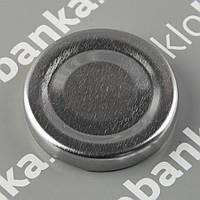 Крышка твист-офф 58 мм серебро