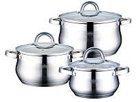 Набор посуды (Набор кастрюль) 6 предметов PETERHOF PH-15236