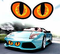 3д тюнинг / Наклейка 3д Глаза кошки, фото 1