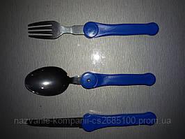 Набор вилка,ложка,нож складные в чехле