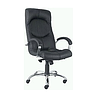 Кресло кожаное для руководителя  «Germes steel chrome» LE
