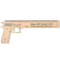 """Линейка-пистолет """"Hellsing arm 454"""" 25 см, деревянная"""