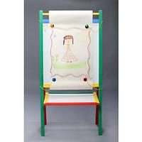 """Дошка магнітна для малювання крейдою і фломастером + мольберт """"МАКСІ"""", фото 1"""