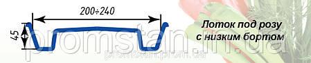 Тепличный лоток под розу с низким бортом, фото 2