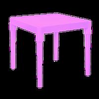 Детский пластиковый столик (розовый) арт. 100025