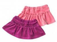Велюровая юбка для девочки dollu (1-2 года)