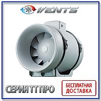 ВЕНТС ТТ ПРО 125 Канальный вентилятор смешанного типа                          Вентс ТТ ПРО 125