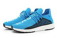 Кроссовки Adidas NMD Human Race light  blue