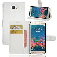 Чехол Samsung J5 Prime / G570F книжка PU-Кожа белый
