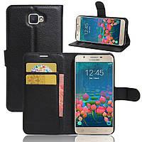 Чехол Samsung J5 Prime / G570F книжка PU-Кожа черный