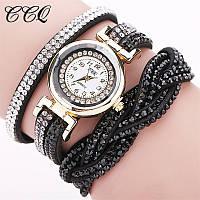 [ Original Часы-браслет Relogio Feminino ] Кварцевые женские стильные часы со стразами