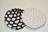 Сеточка для волос на гульку крупное плетение