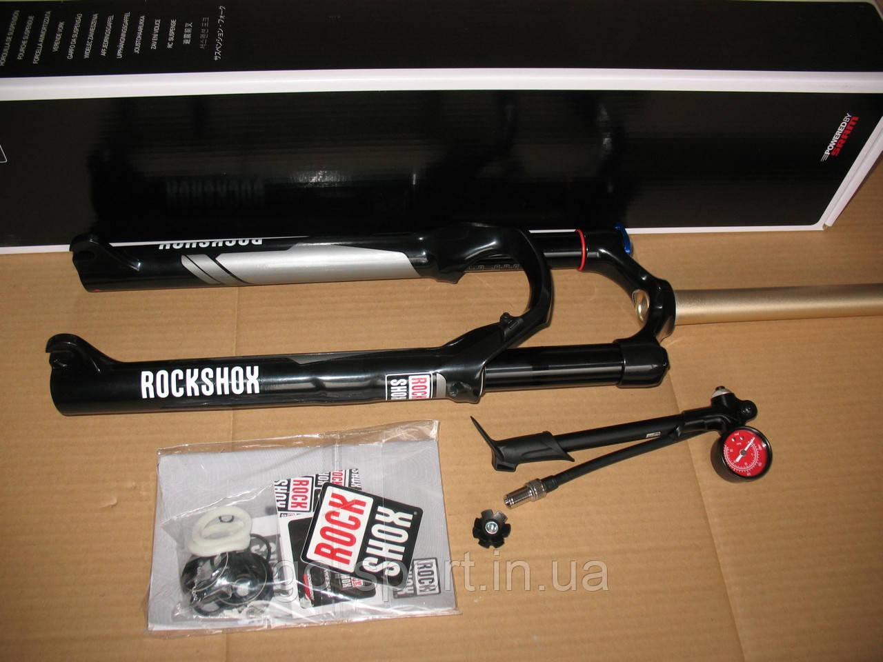 """Велосипедные вилки Rock Shox Reba RL Solo Air 100mm 26"""""""