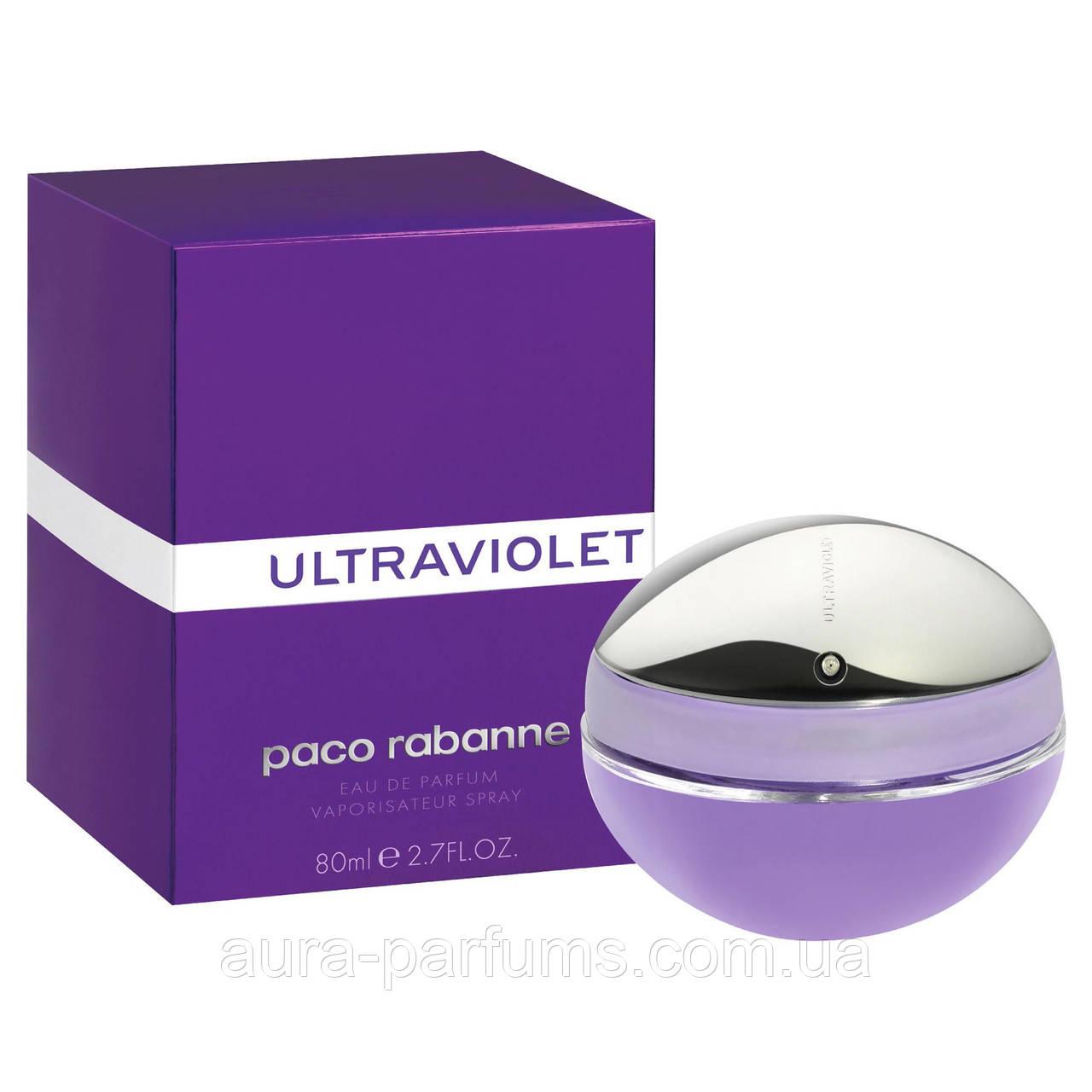 Paco Rabanne Ultraviolet edp 80 ml. оригінал