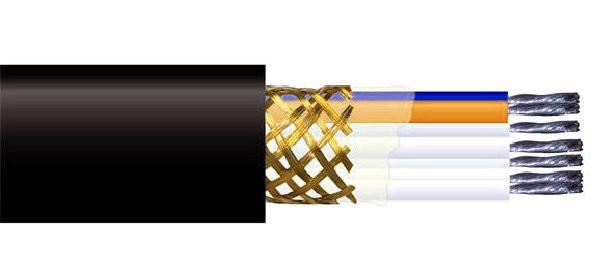 Монтажный кабель экранированный МКЭШ 10х2.5