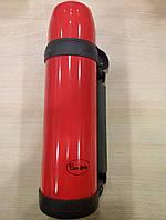 Красный большой термос Con Brio на 1л.