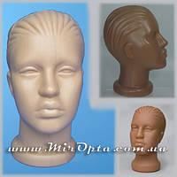"""Манекен пластиковый """"Женская голова D-49.5 см."""" (20 x 20 x 26 см.)"""