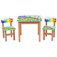 Детский столик со стульчиками F198