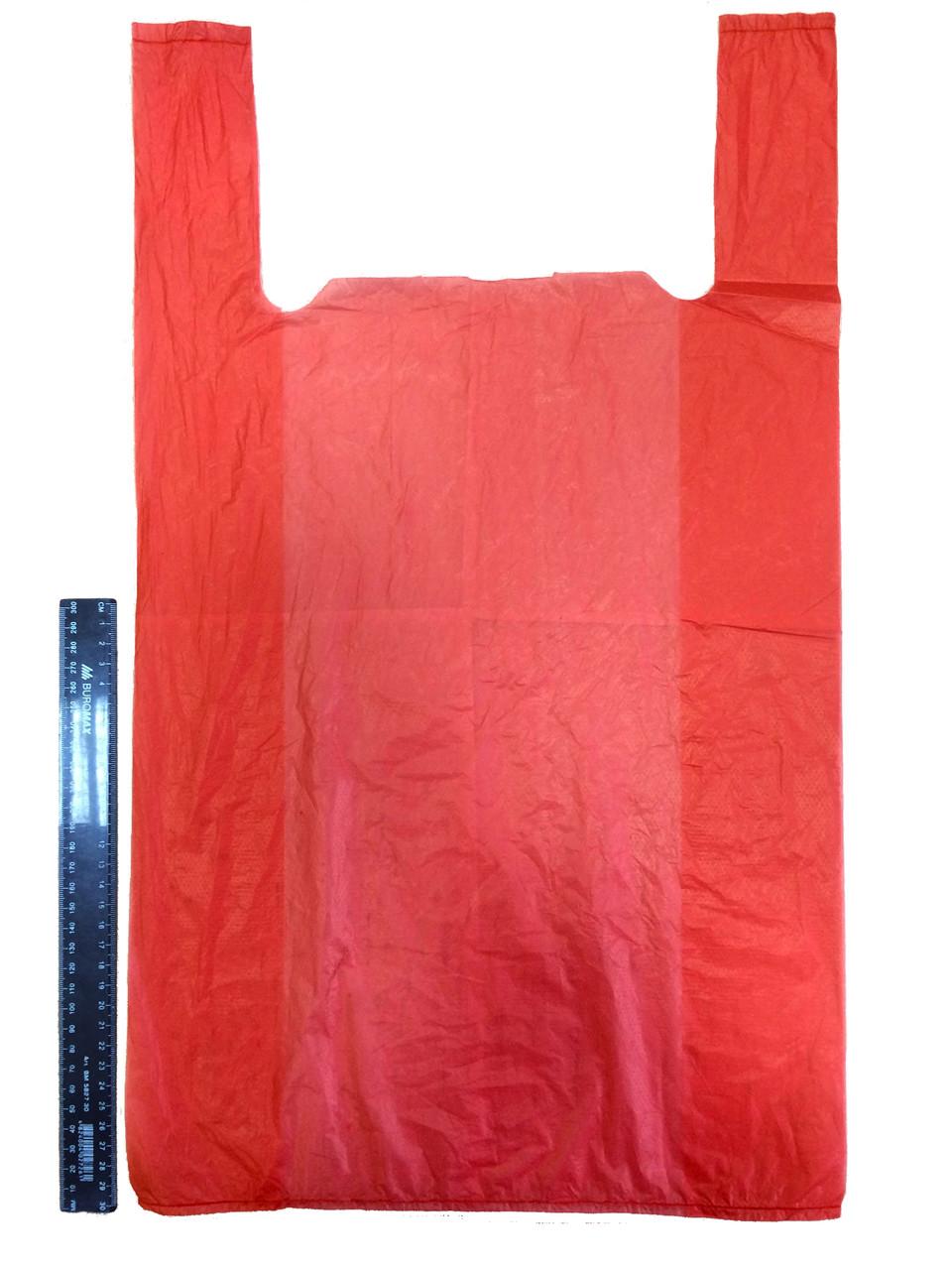 Пакет поліетиленовий-майка №5 35*60 см, 1000 шт.