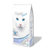 Кварцевый впитывающий наполнитель для туалетов кошек, капсулы 3мм, для котят и чувст. кошек 6кг +Бесплат доста