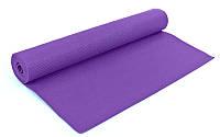 Коврик для йоги и пилатеса Yoga mat  (р-р 1,73 *0,61* 4мм,пенополиэтилен EVA)
