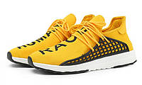 Кроссовки женские Adidas NMD Human Race желтые