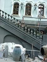 Лестницы, перила, балясины из мрамора и гранита