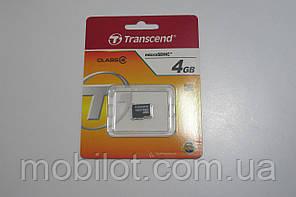 Карта памяти Transcend 4 GB microSDHC (NA-1372)