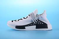Кроссовки женские Adidas NMD Human Race белые, фото 1