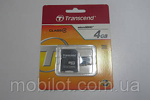 Карта памяти Transcend 4 GB microSDHC (NA-1373)