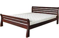 Деревянная кровать Ретро 140х200 дуб ТИС