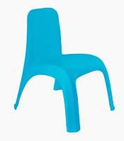 Стульчик детский пластиковый (голубой) арт. 101062