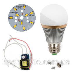 Светодиодная (LED) лампа SQ-Q22 5730 5 Вт, теплый белый, E27 (комплект)