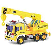 Спецтехника Junior trucker Подъемный кран со светом и звуком 28 см (33025)