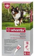 Капли Адвантикс для собак 10-25кг №1