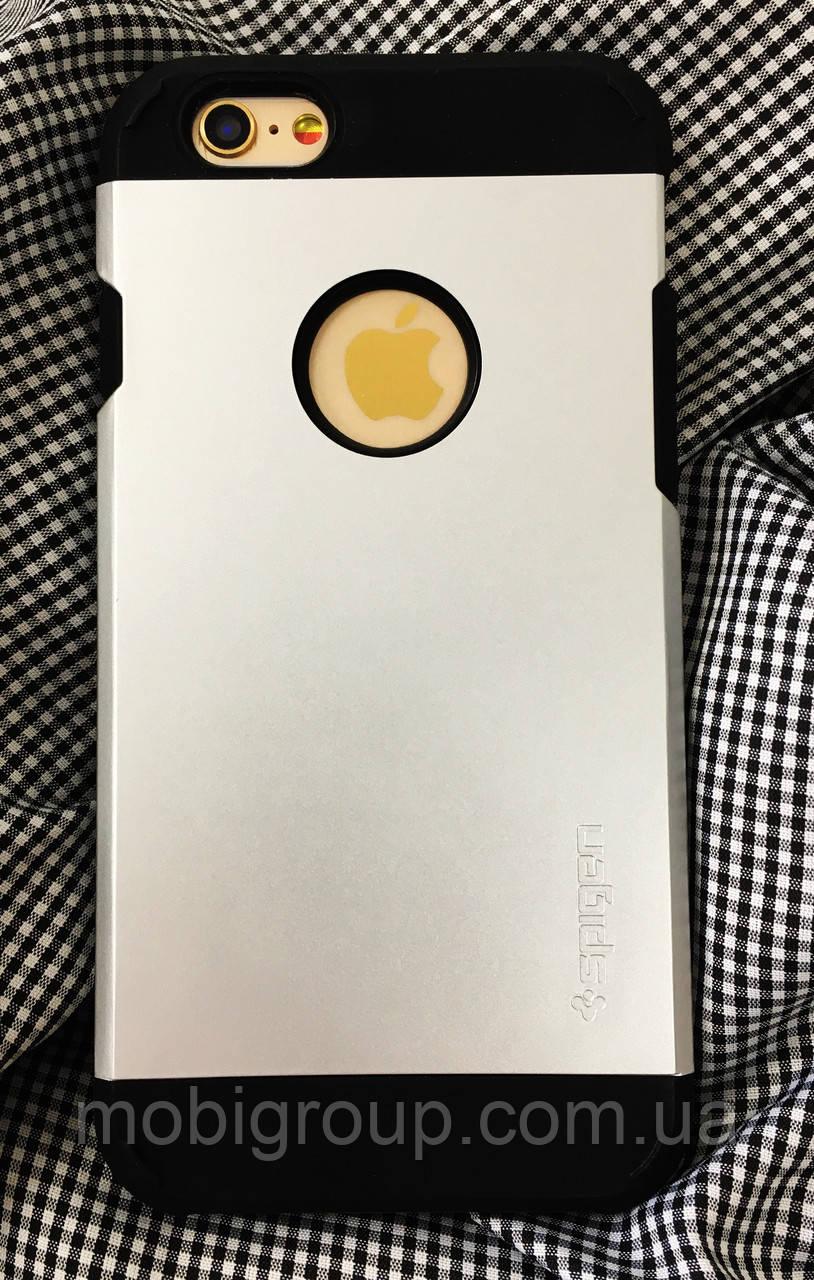 Чехол Spigen Slim Armor iPhone 6S\6 (HQ-копия), Grey